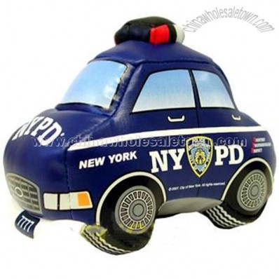 Blue New York Police Car Shape Stress relief Squeeze Ball