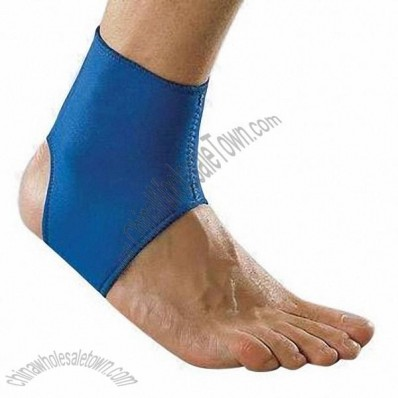Blue Nylon Ankle Support