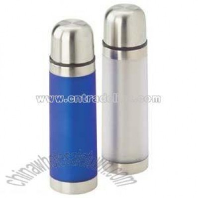Blue Or Silver Thermal Drink Flasks