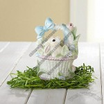 Blue Ribbon Bunny Basket