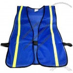 Blue Safety Vest with 3/4