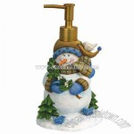 Blue Snowman Lotion Pump