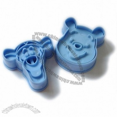 Blue Teenie Weenie and Tigger Shape Cookie Mold