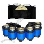 Blue The Beer Belt Six Pack Can Holder