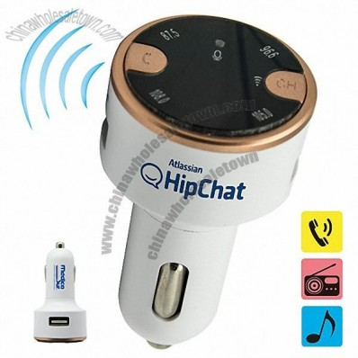 Bluetooth Audio Car Chargers