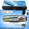 Bluetooth Mirror Car Kit with 3.5