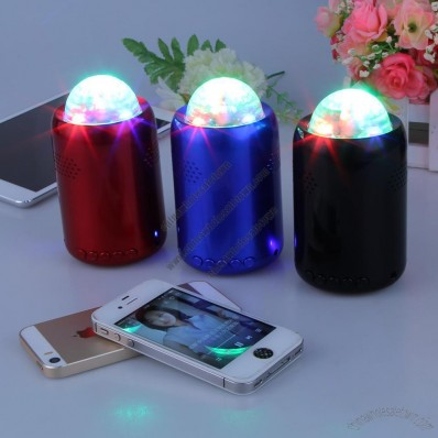 Bluetooth Speaker With LED Lights