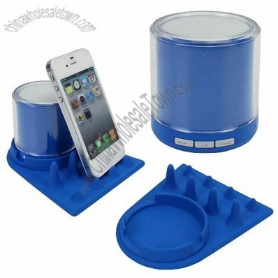Bluetooth Speaker With Silicone Cell Phone Holder