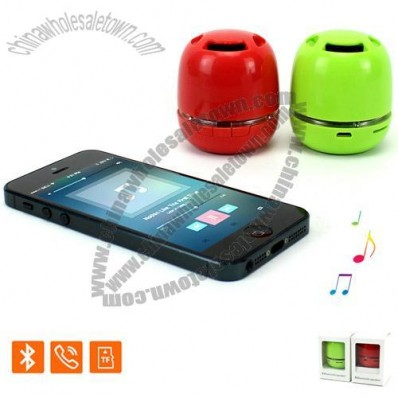 Bluetooth Speaker with Hands free Call function and TF Card Reader