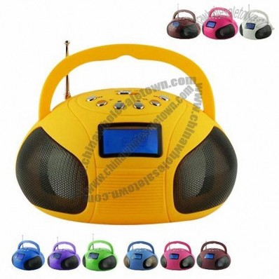 Bluetooth Speaker with Radio and Alarm Clock