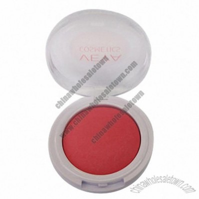 Blusher With Brush, Nice Compact