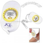 Body tape measure with body mass index scale