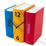 Book Desk Table Clock