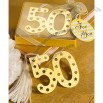 Book Lovers Collection 50th Anniversary Design Bookmark Favors
