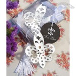 Book Lovers Collection Fleur di Lis Bookmark Favors