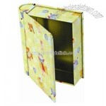 Book Shape Tin Box