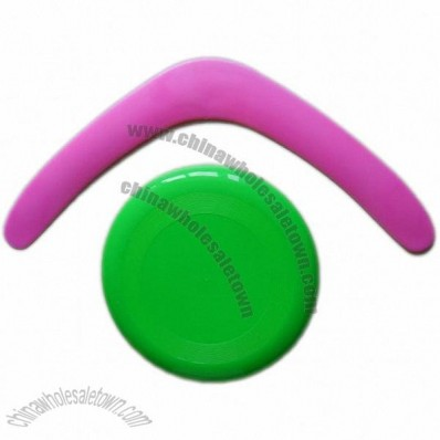 Boomerang And Frisbee Set