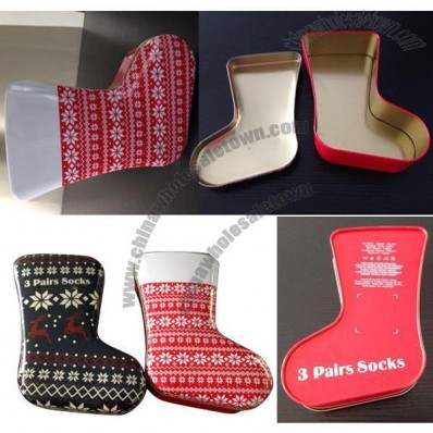 Boot-shaped Gift Tin