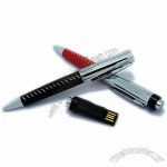 Bootable Executive Leather USB Pen Flahs Drives