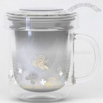 Borosilicate Double Wall Glass Mug
