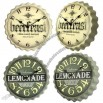 Bottle Cap Styled Wall Clock