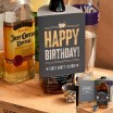 Bottle Hanger Shot Glass Card