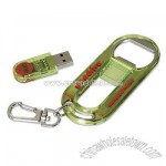Bottle Opener with 1GB Thumb Drive