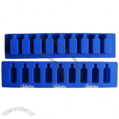 Bottle Shaped Silicone Ice Mould - Cream Mould