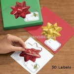 Bow Gift Labels