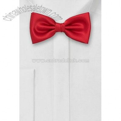 Bow Tie in bright red
