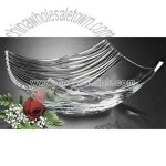 Bowl made of lead crystal