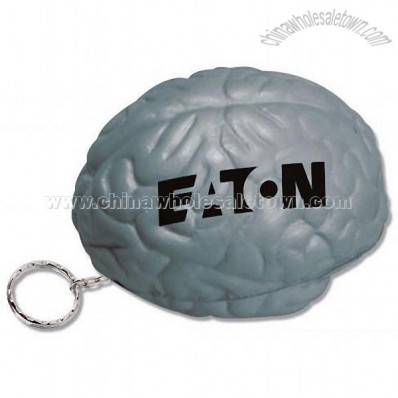 Brain Key ring Stress Reliever