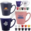 Branded 13 oz Mini Latte Ceramic Mug
