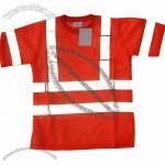 Branded Reflective Safety T-shirt