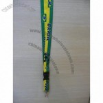 Brasil Soccer Lanyard Key Chain Holder