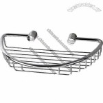 Brass Bathroom Soap Basket