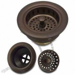Brass Drain Strainer, Various Finishes are Available, Ideal for Sinks