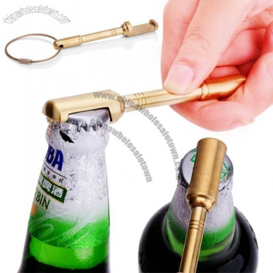 Brass Keycable Bottle Opener