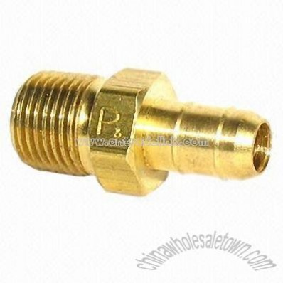 Brass Pex Fitting with Male Connector
