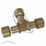 Brass Press/Crimp Fitting for PE Pipes