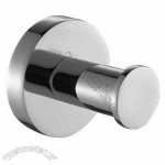 Brass Robe Hook With Chrome Finish