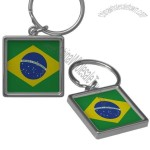 Brazil Flag Key Chains