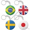 Brazil World Cup National Flag Key Chain