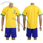 Brazil Yellow Home Soccer Jersey