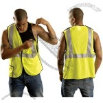 Break-Away Vest with Large Hole Mesh