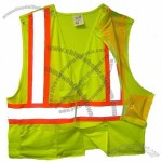 Breakaway Mesh Lime Safety Vest