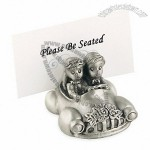 Bride & Groom Car Place Card Holder