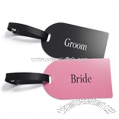 Bride & Groom Luggage Tags