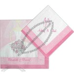 Bride To Be - 3-Ply Beverage Napkin With Pattern