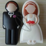 Bride and Bridegroom USB Flash Drives